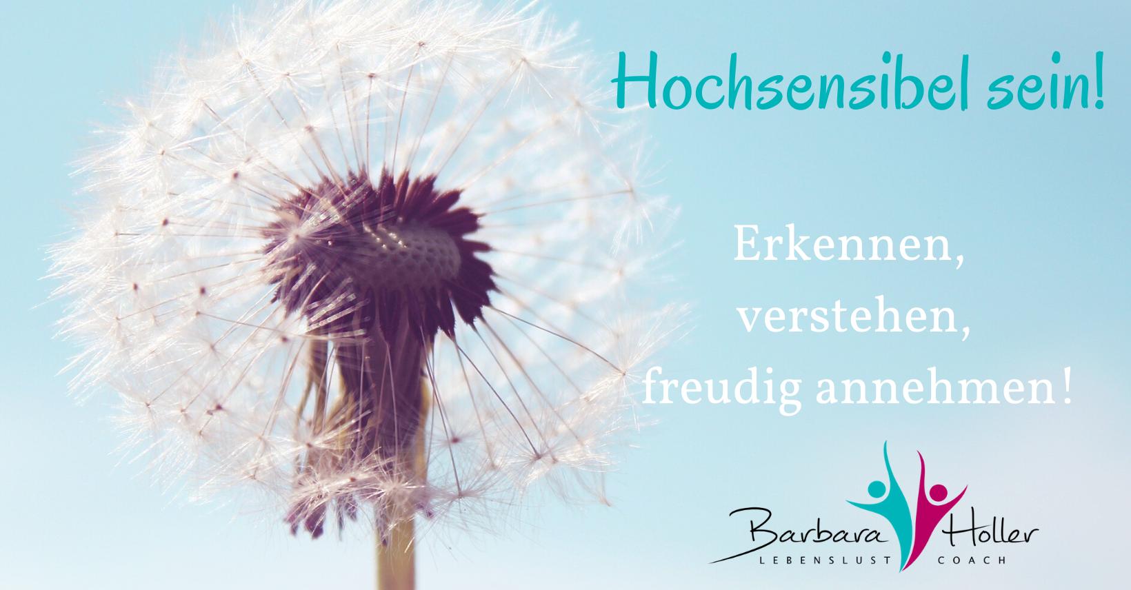 Barbara Holler Hochsensibilität Lebenslust