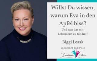Lebenslust Talk Biggi Leask
