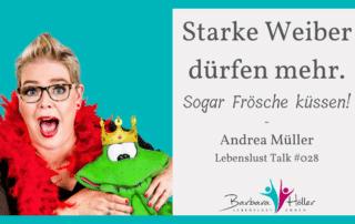 Lebenslust Talk Andrea Müller