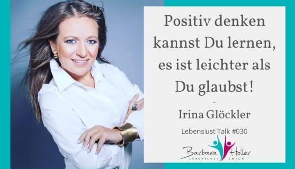 Lebenslust Talk Irina Glöckler