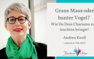 Lebenslust Talk Andrea Knoll