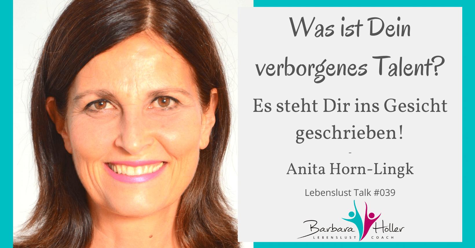 Lebenslust Talk Anita Horn-Lingk