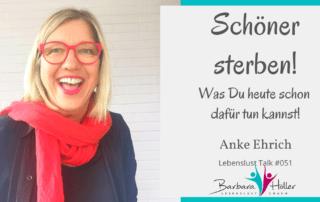Lebenslust Talk Anke Ehrich